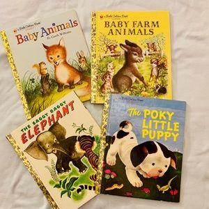 Set of 4 Classic Stories Little Golden Books